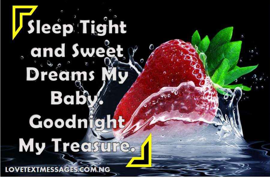 Romantic Good Night Love Message for Her