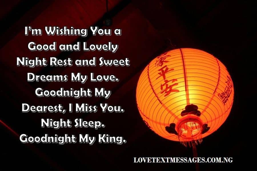 Romantic Good Night Love Quotes for My Boyfriend
