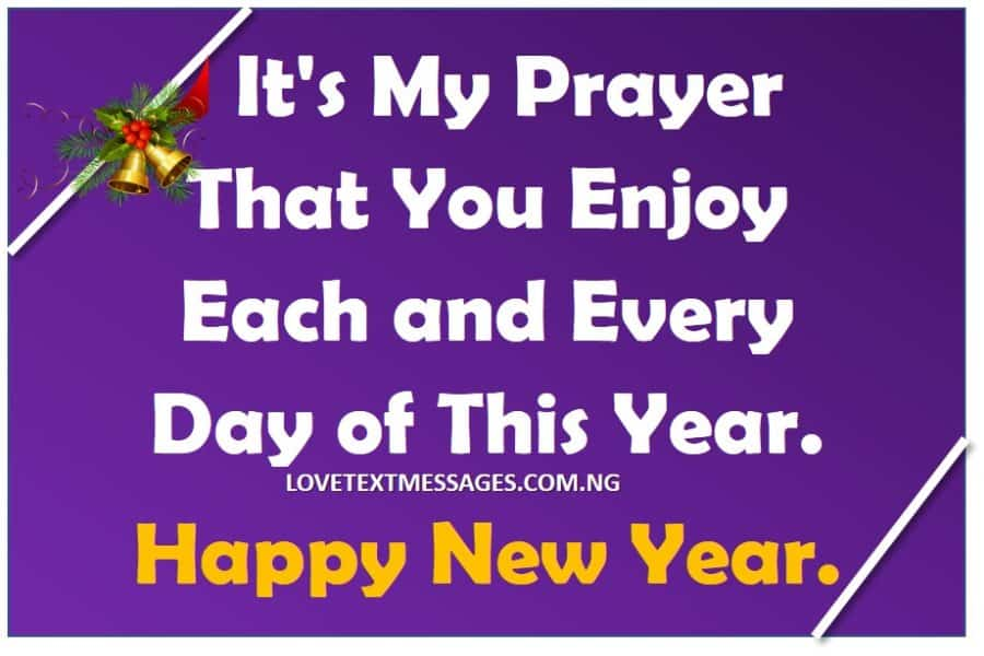 happy new year to friends love text messages