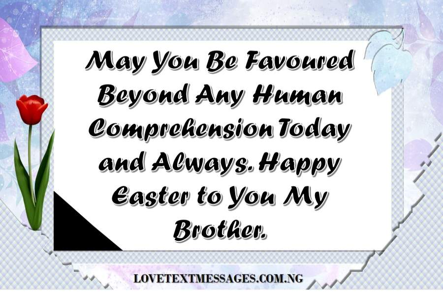 Happy Easter Messages for Brother
