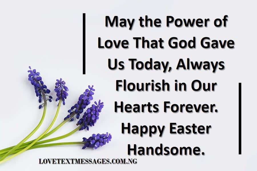 Happy Easter Messages for Him