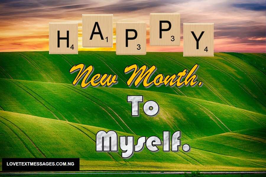 Happy New Month of February for Myself