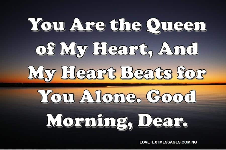 Romantic Good Morning Text Messages for Her from the Heart