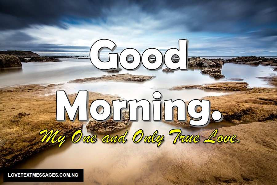 Good Morning Love SMS for Girlfriend