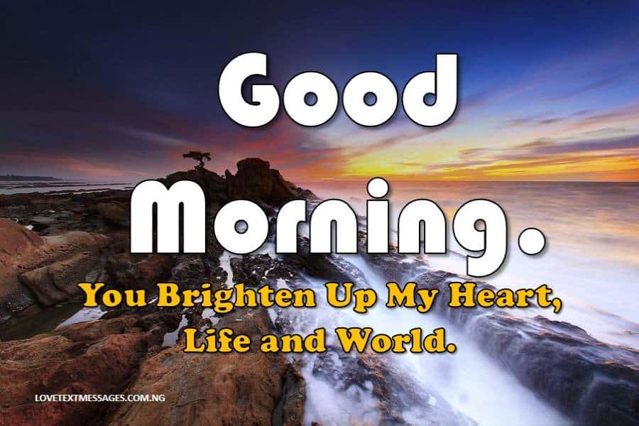 Good Morning Message to My Lovely Wife