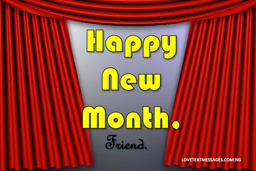Happy New Month of March to My Friend