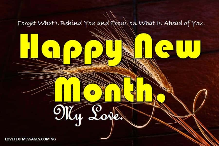 Happy New Month of March to My Lover