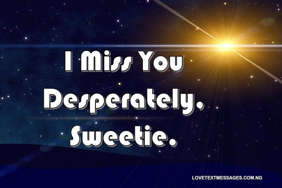 Missing You Message