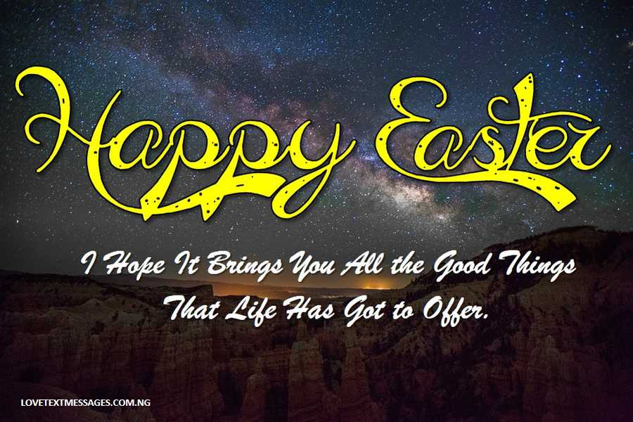 Happy Easter Messages for Sister