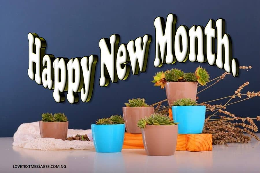 Happy New Month Message for Her