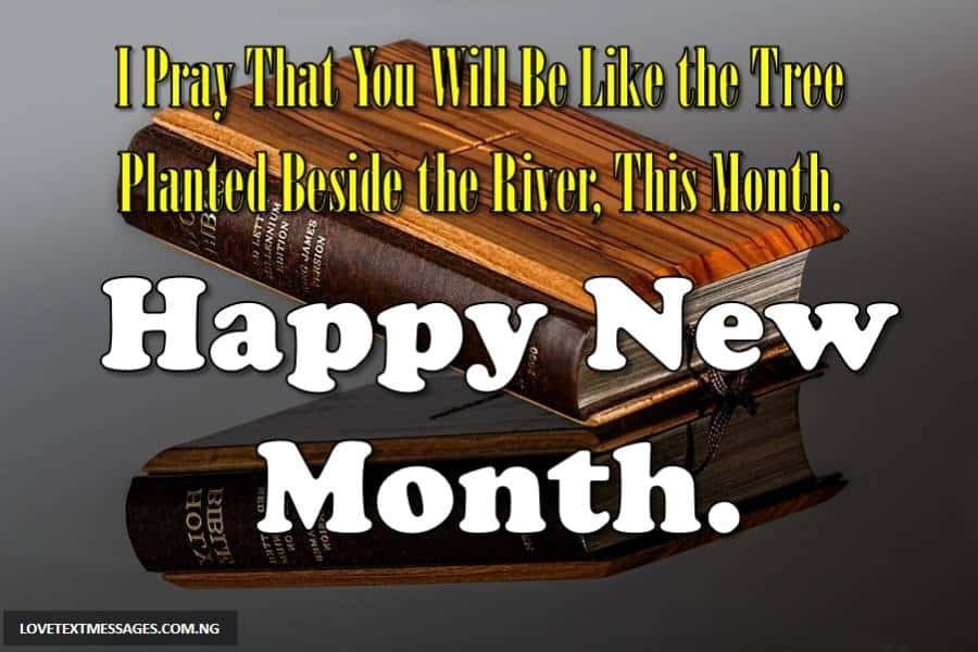 Happy New Month Prayers for Pastor