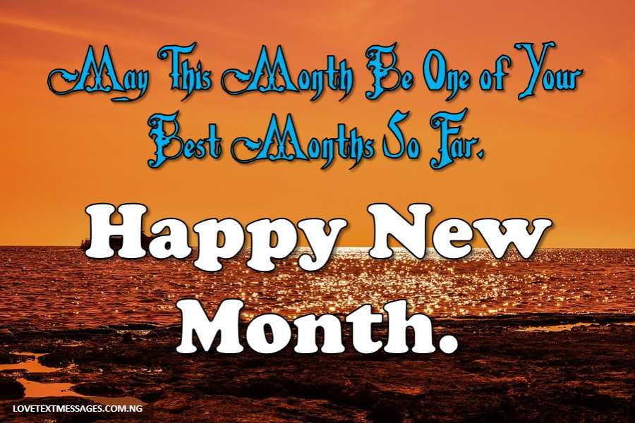 Happy New Month Prayers for Sister