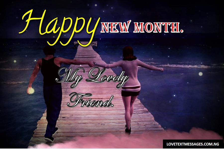 Happy New Month of April to My Friend