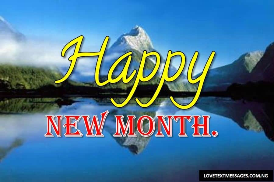Happy New Month of April to My Girlfriend