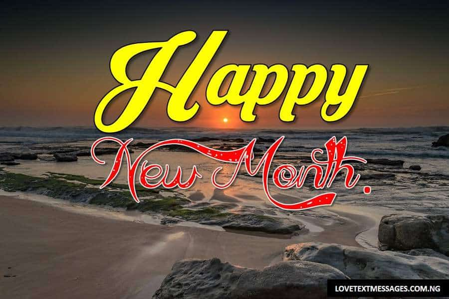 Happy New Month of April to My Love