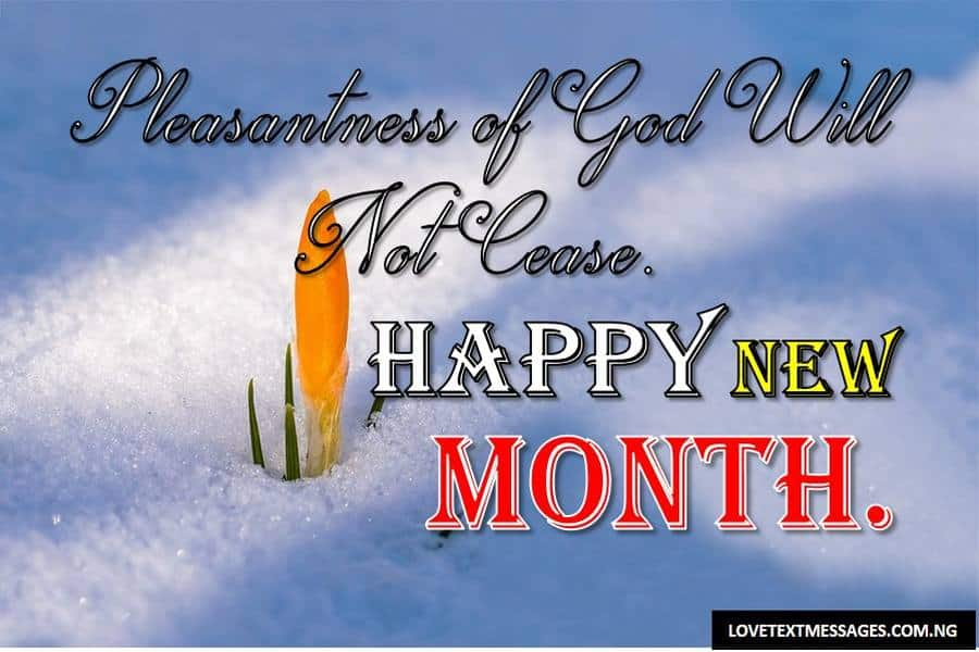 Happy New Month of April to My Mom