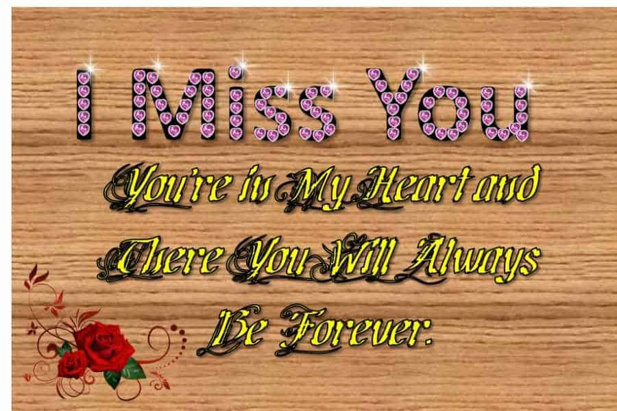 Missing You Text Messages for Her
