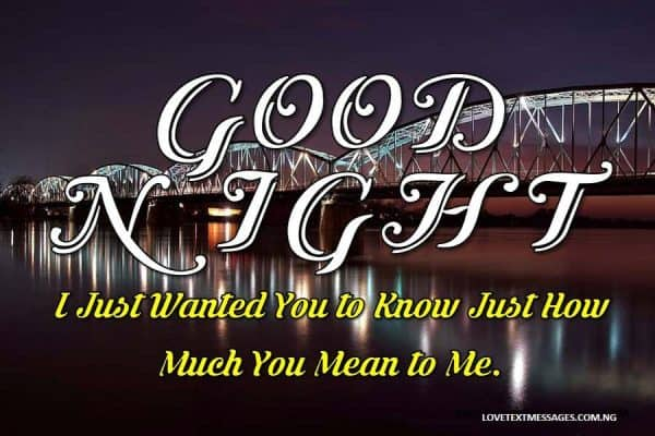 Good Night Love Message to My WIfe