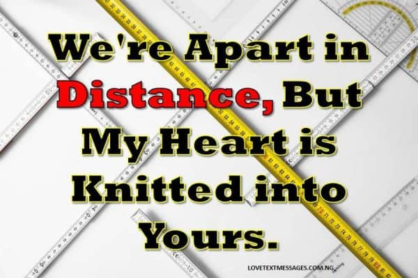 Long Distance Relationship Messages