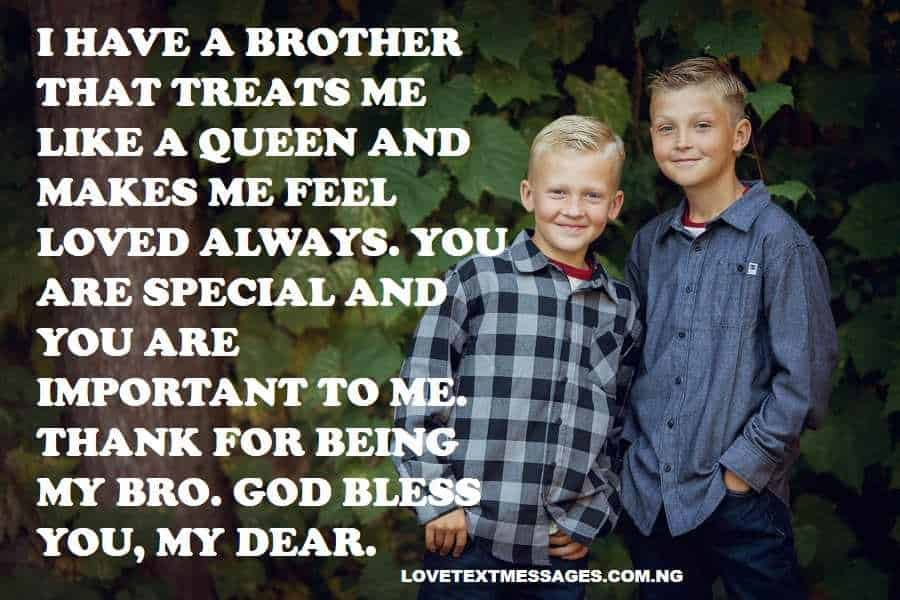 Thank You Quotes for Brother