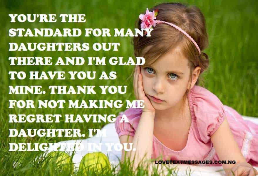 Thank You Quotes for Daughter