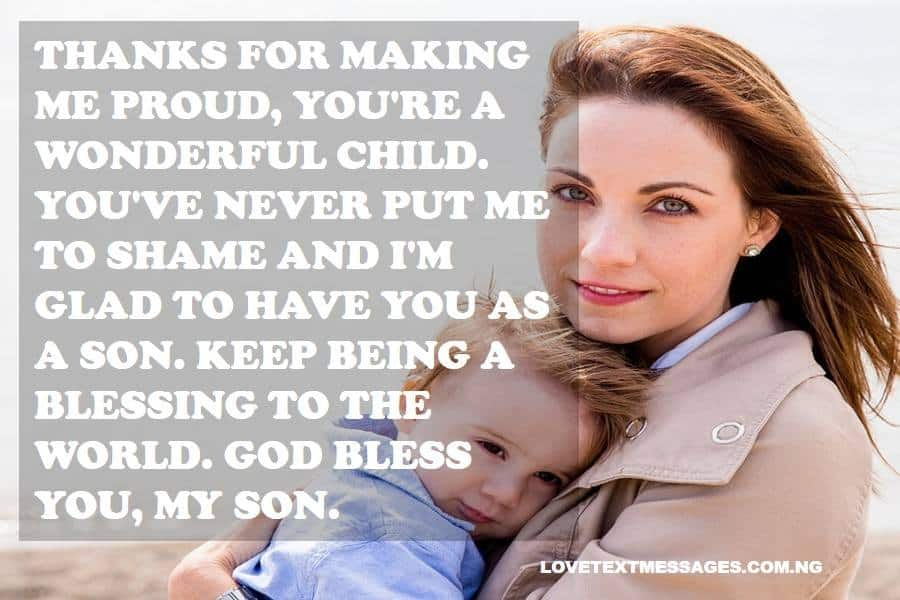 Thank You Quotes for Son