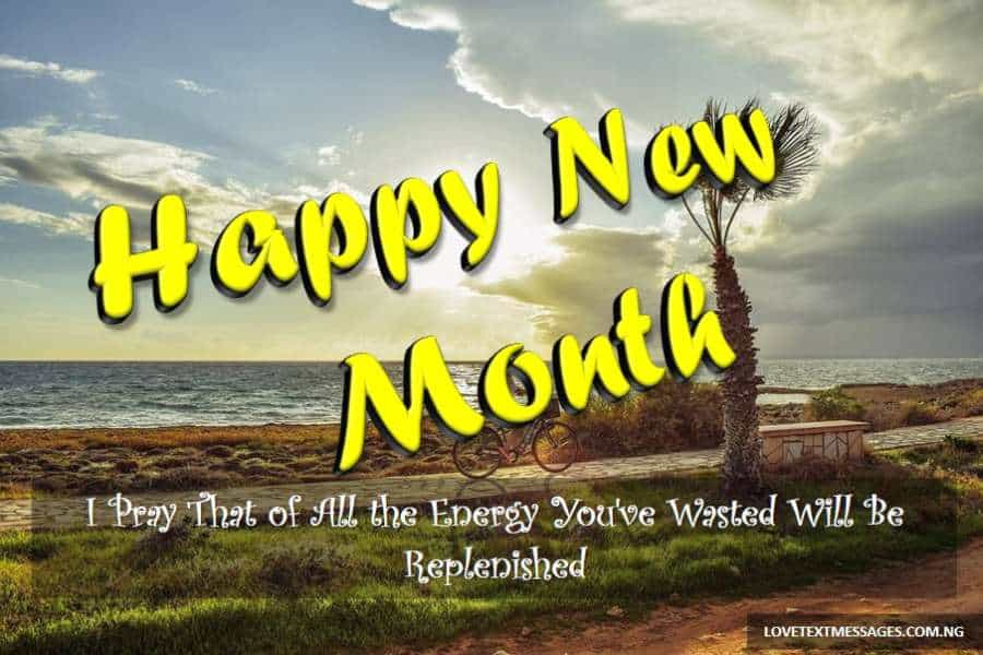 Happy New Month Text Messages for Friend