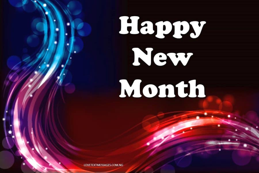 Happy New Month Text Messages for Niece