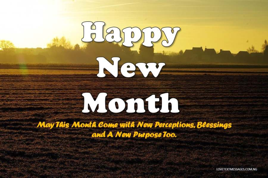 Happy New Month Text Messages for Uncle